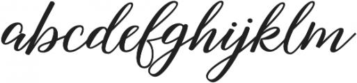 Nightcall Bold Regular otf (700) Font LOWERCASE