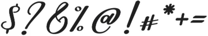 Nightcall Regular otf (400) Font OTHER CHARS
