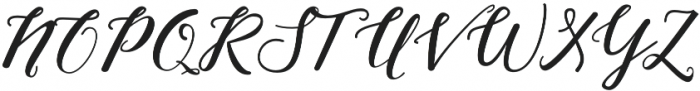 Nightcall Regular otf (400) Font UPPERCASE