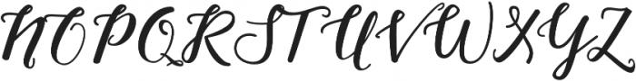 Nightcall Upright Bold Regular otf (700) Font UPPERCASE
