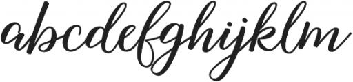 Nightcall Upright Bold Regular otf (700) Font LOWERCASE