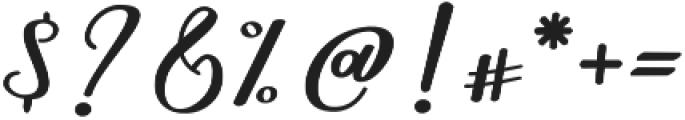 Nightcall Upright Regular otf (400) Font OTHER CHARS