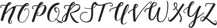 Nightcall Upright Regular otf (400) Font UPPERCASE