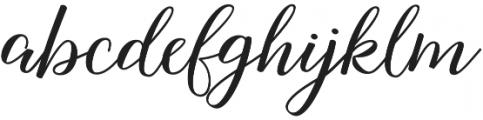 Nightcall Upright Regular otf (400) Font LOWERCASE