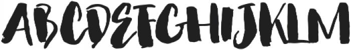 Nightgirls Alternates otf (400) Font UPPERCASE
