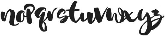 Nightgirls Alternates otf (400) Font LOWERCASE