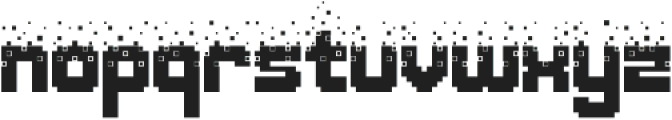 Nightmare Codehack otf (400) Font LOWERCASE