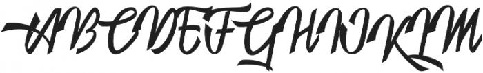 Nightstory otf (400) Font UPPERCASE