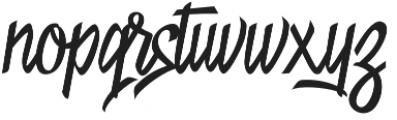 Nightstory otf (400) Font LOWERCASE