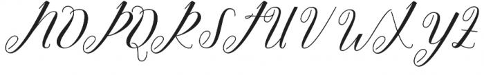 Nighty otf (400) Font UPPERCASE