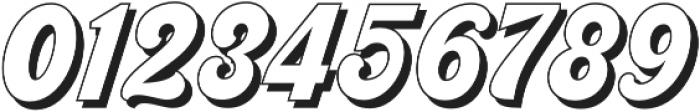 Nigthwel Shadow Regular otf (400) Font OTHER CHARS