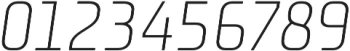 Niks Light Italic otf (300) Font OTHER CHARS