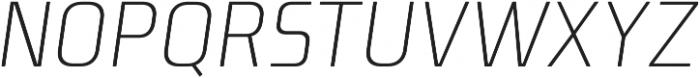 Niks Light Italic otf (300) Font UPPERCASE