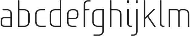 Niks Light otf (300) Font LOWERCASE