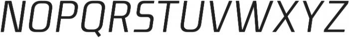 Niks Normal Italic otf (400) Font UPPERCASE