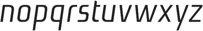 Niks Normal Italic otf (400) Font LOWERCASE