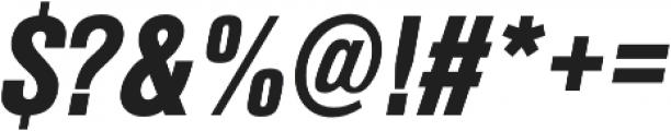 Nimbus Sans Cond L Black Italic otf (900) Font OTHER CHARS