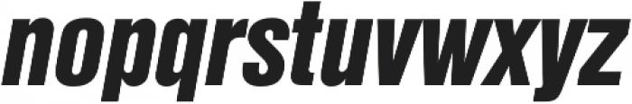 Nimbus Sans Cond L Black Italic otf (900) Font LOWERCASE