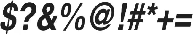 Nimbus Sans Cond L Bold Italic otf (700) Font OTHER CHARS