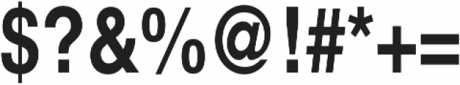 Nimbus Sans Cond L Bold otf (700) Font OTHER CHARS