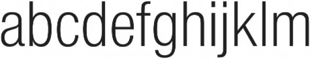 Nimbus Sans Cond L Light otf (300) Font LOWERCASE