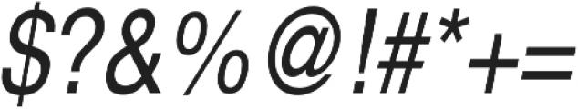 Nimbus Sans Cond L Regular Italic otf (400) Font OTHER CHARS