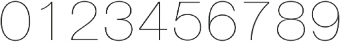 Nimbus Sans D Ultra Light otf (300) Font OTHER CHARS