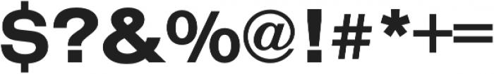 Nimbus Sans Extd Bold otf (700) Font OTHER CHARS