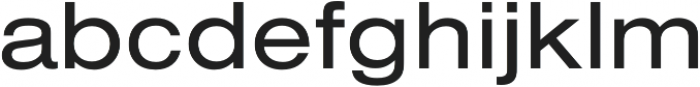 Nimbus Sans Extd Regular otf (400) Font LOWERCASE