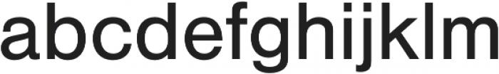 Nimbus Sans Regular otf (400) Font LOWERCASE