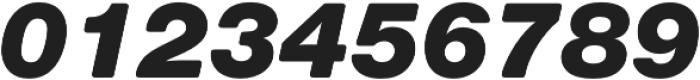 Nimbus Sans Round Black Italic otf (900) Font OTHER CHARS