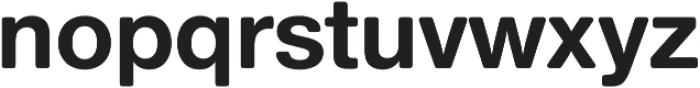 Nimbus Sans Round Bold otf (700) Font LOWERCASE
