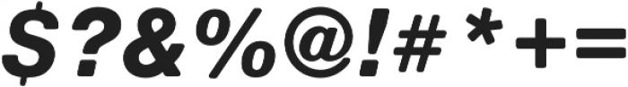 Nimbus Sans Round Heavy Italic otf (800) Font OTHER CHARS