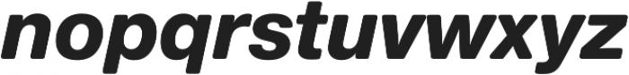 Nimbus Sans Round Heavy Italic otf (800) Font LOWERCASE