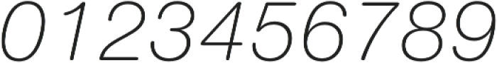 Nimbus Sans Round Light Italic otf (300) Font OTHER CHARS