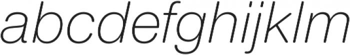 Nimbus Sans Round Light Italic otf (300) Font LOWERCASE