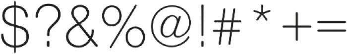 Nimbus Sans Round Light otf (300) Font OTHER CHARS