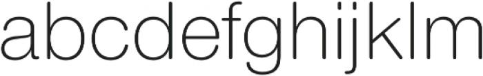 Nimbus Sans Round Light otf (300) Font LOWERCASE
