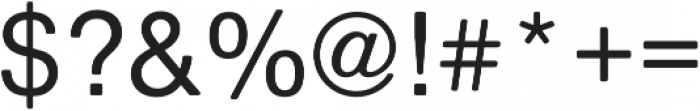 Nimbus Sans Round Medium otf (500) Font OTHER CHARS