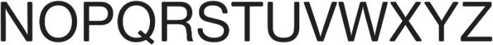 Nimbus Sans Round Medium otf (500) Font UPPERCASE