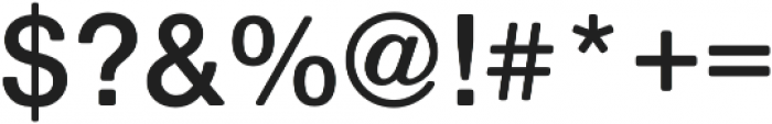 Nimbus Sans Round Semi Bold otf (600) Font OTHER CHARS