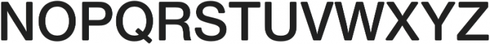 Nimbus Sans Round Semi Bold otf (600) Font UPPERCASE