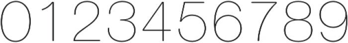 Nimbus Sans Round Ultra Light otf (300) Font OTHER CHARS