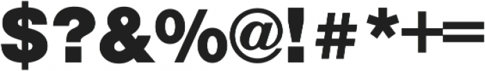NimbusSanBla ttf (900) Font OTHER CHARS