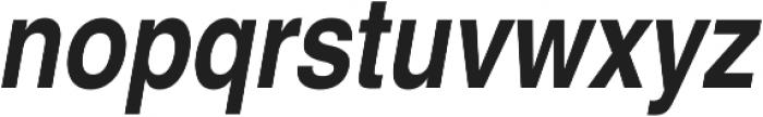 NimbusSanConL ttf (400) Font LOWERCASE