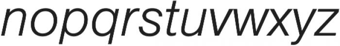 NimbusSanLig ttf (400) Font LOWERCASE