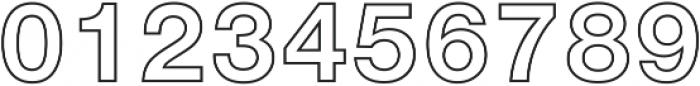 NimbusSanOutDBol ttf (400) Font OTHER CHARS