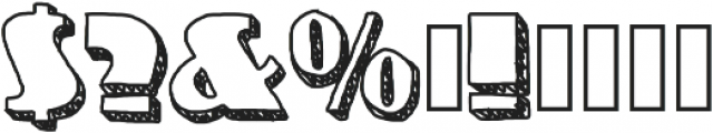 NineteenOhFive ttf (400) Font OTHER CHARS