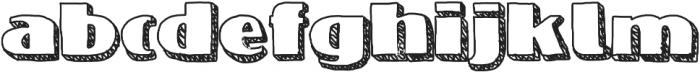 NineteenOhFive ttf (400) Font LOWERCASE