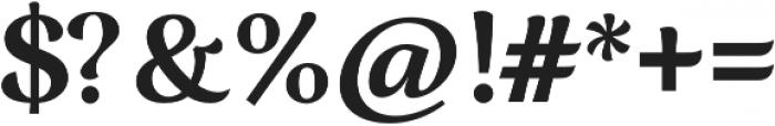 Ninfa Bold otf (700) Font OTHER CHARS